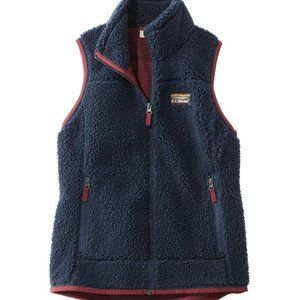 L.L. BEAN Mountain Pile Fleece Vest